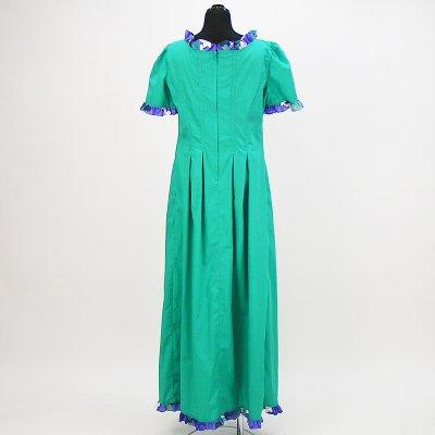 画像2: プリンセス・カイウラニ・ファッション・ムームー【ゆったりデザイン/ライトグリーン】