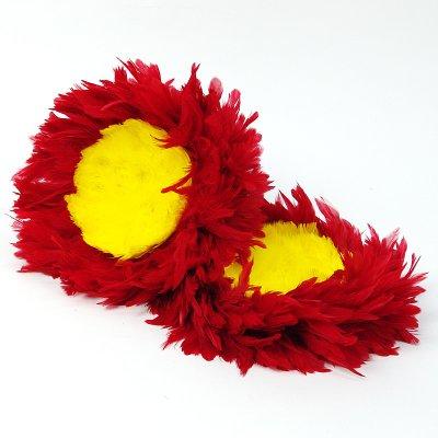 画像3: ウリウリ【赤/黄色/羽単体】