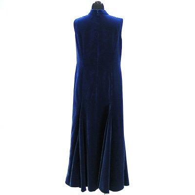画像2: ベルベットドレス【ブルー】Sale