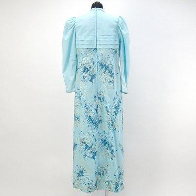 画像2: プリンセス・カイウラニ・ファッション・ムームー【長袖/水色】Sale