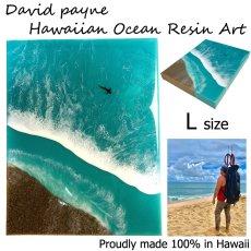 画像2: デイヴィッドペイン ハワイアン レジン アート Lサイズ (2)