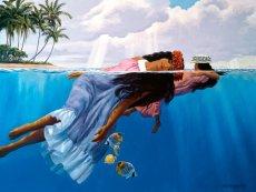 画像2: ジクレー版画 Daughters of the Sea (ドーター オブ ザ シー) by Herb Kane (2)