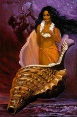 画像2: ジクレー版画 Legend of the Magic Shell (レジェンド オブ ザ マジック シェル) by Herb Kane (2)