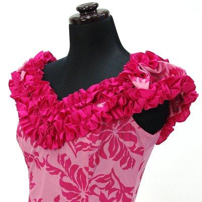 画像3: プリンセス・カイウラニ・ファッション・ムームー【ピンク】