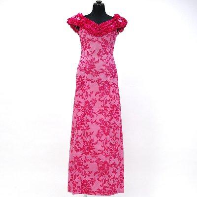 画像1: プリンセス・カイウラニ・ファッション・ムームー【ピンク】