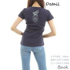 画像4: フラダンス Tシャツ 速乾加工 半袖 ラカ柄 ネコポス対応可 (4)