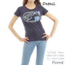 画像3: フラダンス Tシャツ 速乾加工 半袖 ラカ柄 ネコポス対応可 (3)