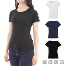 画像1: Tシャツ 半袖 レディース 無地 CVCフライスTシャツ UnitedAthle ユナイテッドアスレ ガールズ rucca 6.2オンス 5490-04 フラダンス レッスン スポーツ (1)