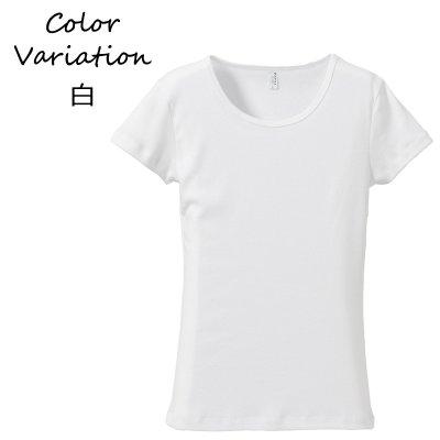 画像1: Tシャツ 半袖 レディース 無地 CVCフライスTシャツ UnitedAthle ユナイテッドアスレ ガールズ rucca 6.2オンス 5490-04 フラダンス レッスン スポーツ