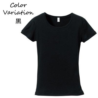 画像2: Tシャツ 半袖 レディース 無地 CVCフライスTシャツ UnitedAthle ユナイテッドアスレ ガールズ rucca 6.2オンス 5490-04 フラダンス レッスン スポーツ