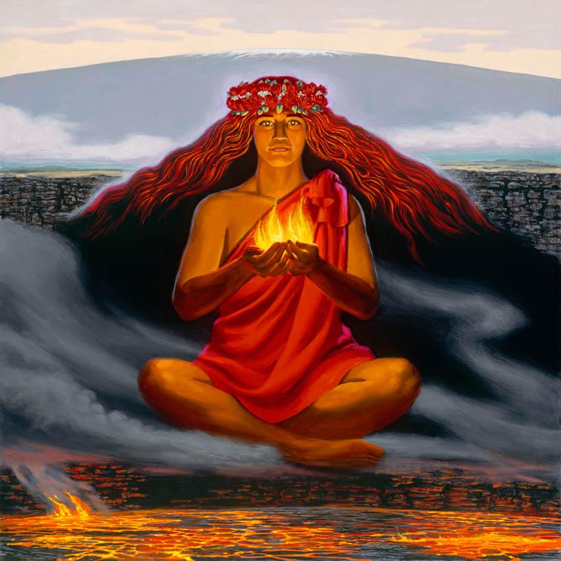 火の神ペレ