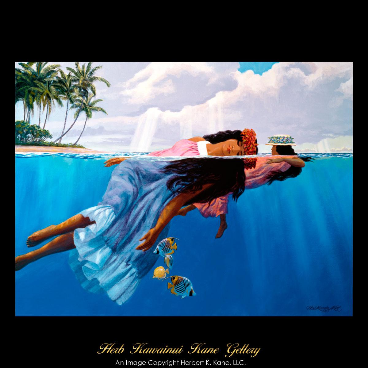 画像1: ジクレー版画 Daughters of the Sea (ドーター オブ ザ シー) by Herb Kane (1)