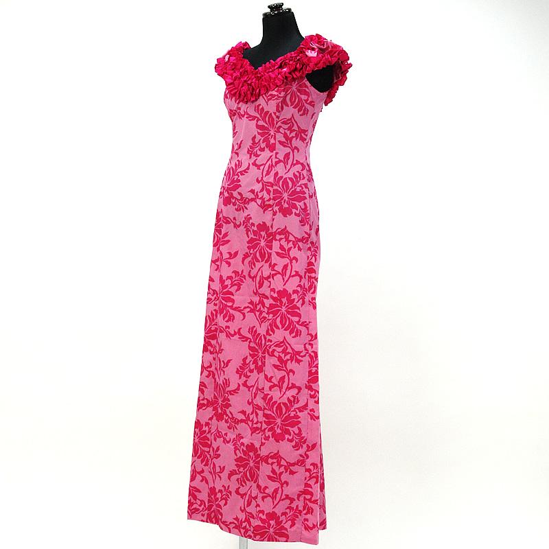 画像1: プリンセス・カイウラニ・ファッション・ムームー【ピンク】 (1)