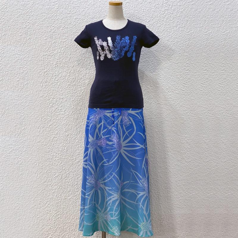 画像1: フライスTシャツ&2wayスカート コーディネートセット (1)