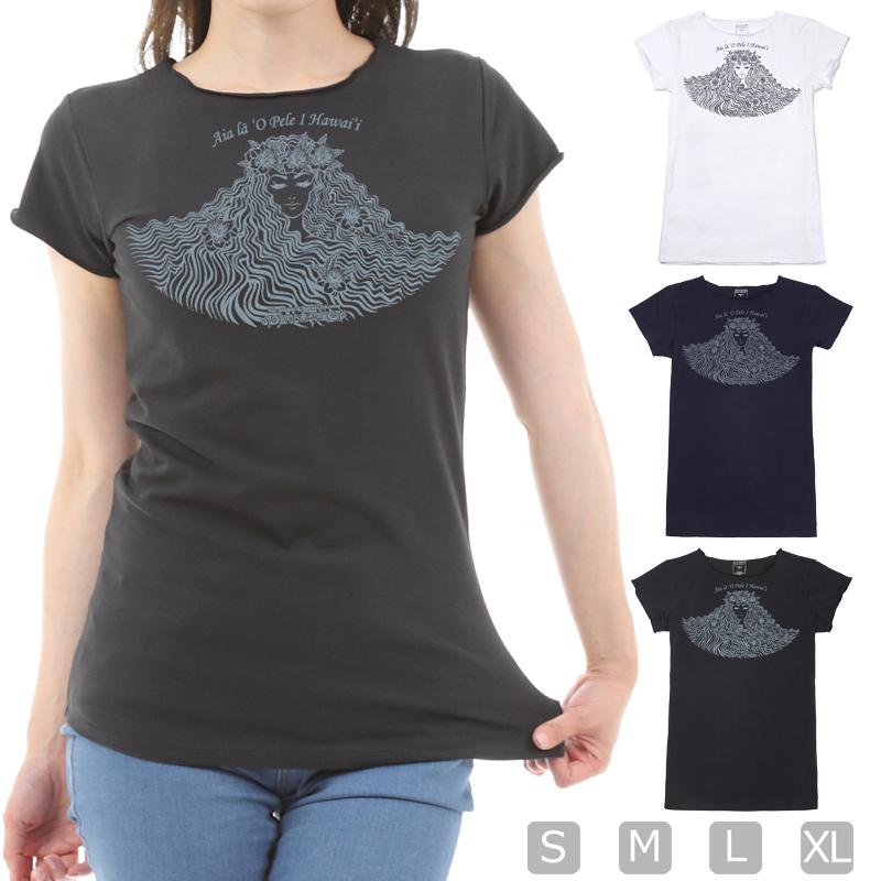 画像1: スリムフィット ショートスリーブ Tシャツ ペレ柄 ネコポス対応可 (1)
